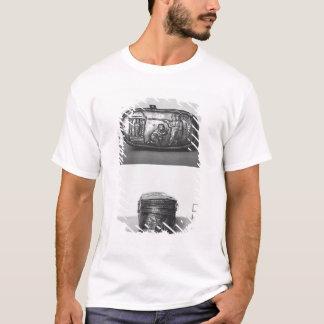 T-shirt Détail du couvercle d'un pyxide