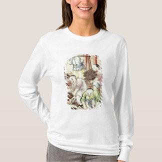 T-shirt Détail d'un vase dépeignant des artisans
