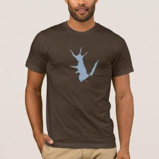 T-shirt d'étang de Georgica de Hampton est