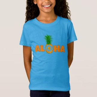 T-shirt d'été d'ananas Aloha - pour des filles