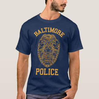 T-shirt détective du Maryland de police de Baltimore