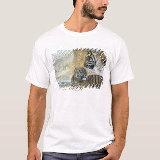 T-shirt Détente de tigres de Bengale