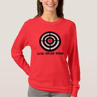 T-shirt Détente ergonomique : Tête de coup ici