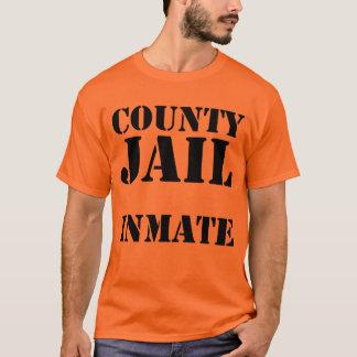 T-shirt Détenu de prison du comté