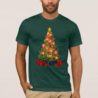 T-shirt d'étincelle d'arbre de Noël