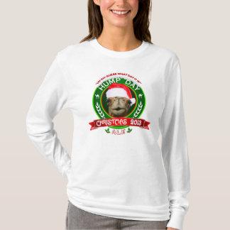 T-shirt d'étiquette de bière anglaise de Noël de
