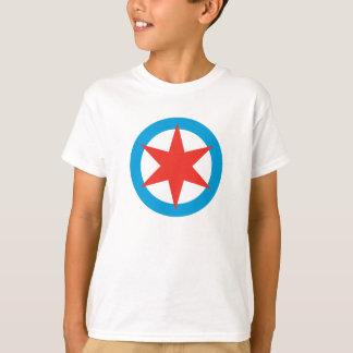 T-shirt d'étoile de drapeau de Chicago