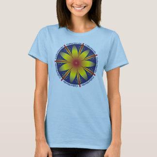 T-shirt d'Étoile-Éclat de Cabo Verde
