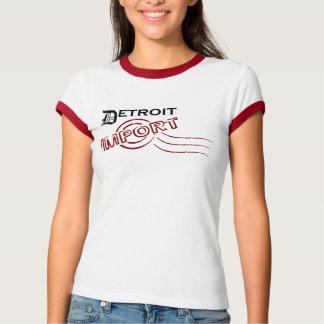 T-shirt Detroit a importé. D'où êtes-vous ?