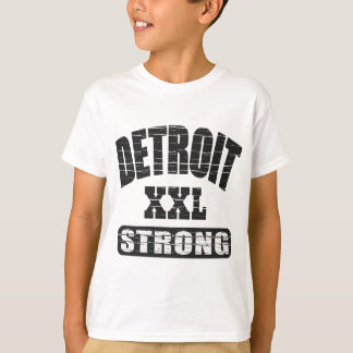 T-shirt Detroit fort