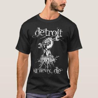 T-shirt Detroit ne mourra jamais