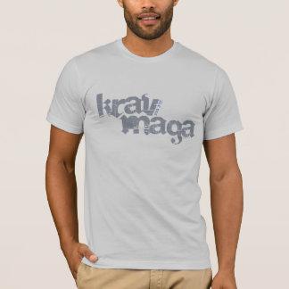 T-shirt détruit par Maga de Krav