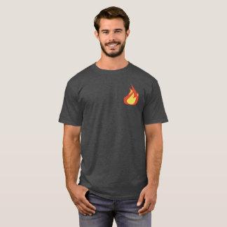 T-shirt D'eucharistie de flamme dos dessus