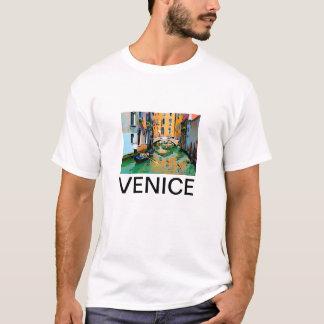 T-shirt Deux amants gondole à Venise, Italie