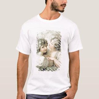 T-shirt Deux anges, XVIIIème siècle