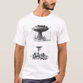 T-shirt Deux chars votifs pour rassembler l'eau de pluie