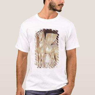 T-shirt Deux chevaux à ailes du fronton d'a