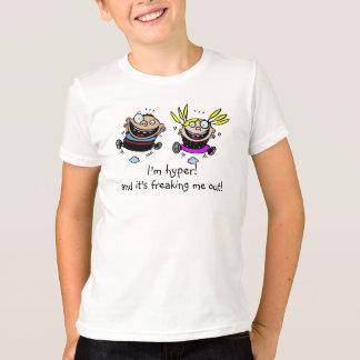 T-shirt Deux enfants hyper