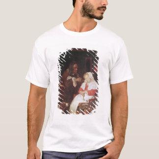 T-shirt Deux hommes avec une femme de sommeil, c.1655-60