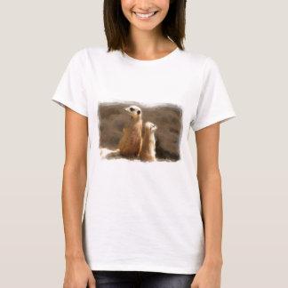T-shirt Deux mâles de terre