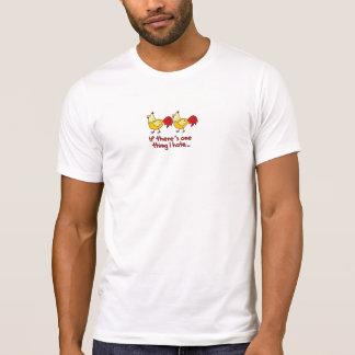 T-shirt Deux poulets