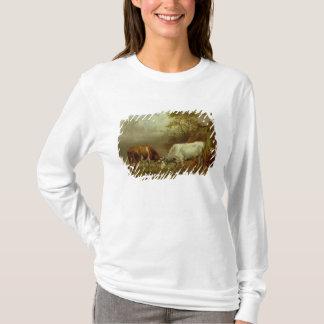 T-shirt Deux taureaux avec les klaxons verrouillés, 1653