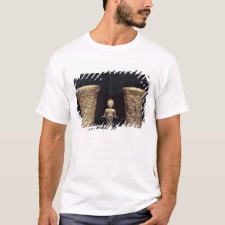 T-shirt Deux vases à Chimu avec les chiffres mythologiques