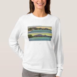 T-shirt Deux vues de fleur de lac