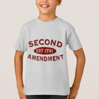 T-shirt Deuxième est 1791 d'amendement