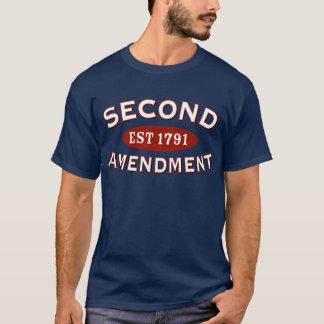 T-shirt Deuxième est d'amendement. 1791