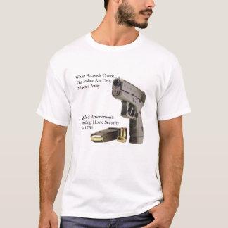T-shirt Deuxième sécurité d'amendement
