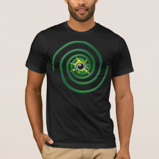 T-shirt Développez-vous en spirales dans l'oublie
