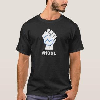 T-shirt Devise NANOE XRB de HODL : BLANC