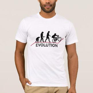 T-shirt d'évolution de vélo de montagne