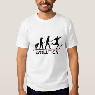 T-shirt d'évolution du football