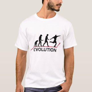 T-shirt d'évolution du football