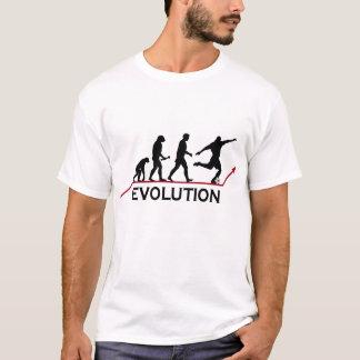 T-shirts évolution sur Zazzle