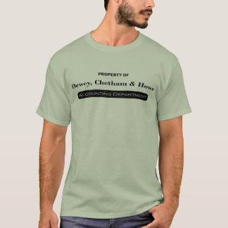 T-shirt Dewey Chetham et Howe - comptabilité
