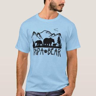T-shirt d'extérieur d'ours de papa grand