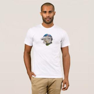 T-shirt d'habillement d'Amer de logo de SA Roqueta