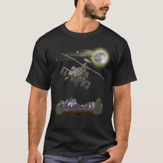 T-shirt d'hélicoptère d'Apache