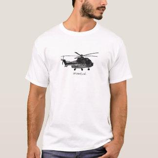 T-shirt d'hélicoptère - disparaissent la verticale