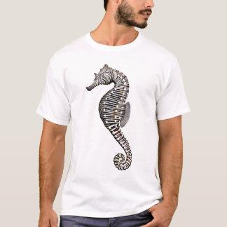T-shirt d'hippocampe de zèbre de récif coralien