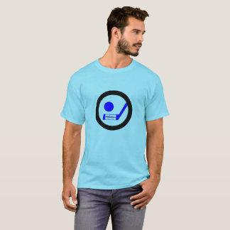 T-shirt d'hockey de Blueliner rétro