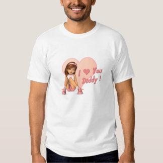 T-shirt d'hommes de Sadie de fête des pères
