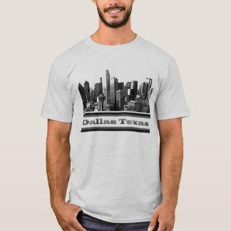 T-shirt d'horizon de Dallas le Texas