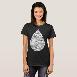 T-shirt d'huile essentielle de Botanicals de thym