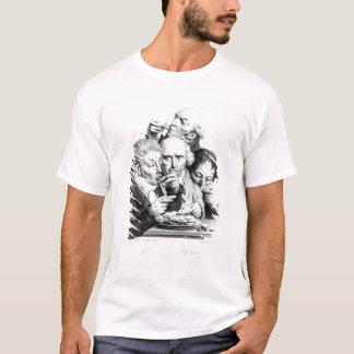T-shirt d'Huitres de Les Mangeurs, 1825
