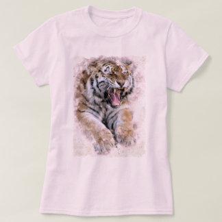 T-shirt d'hurlement de tigre