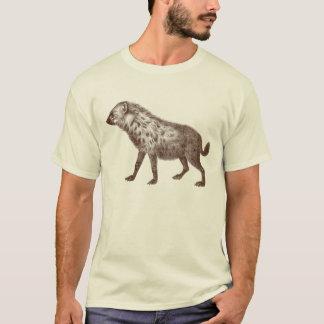 T-shirt d'hyène basé sur la gravure antique